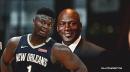 Pelicans rookie Zion Williamson opens up about Michael Jordan