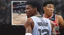 VIDEO: Ja Morant, Rui Hachimura put on a dunk show before NBA Rising Stars game
