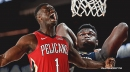 VIDEO: Pelicans' Zion Williamson bends the rim in Rising Stars Game