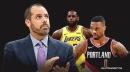 Frank Vogel jokes about Blazers' Damian Lillard being injured on Team LeBron