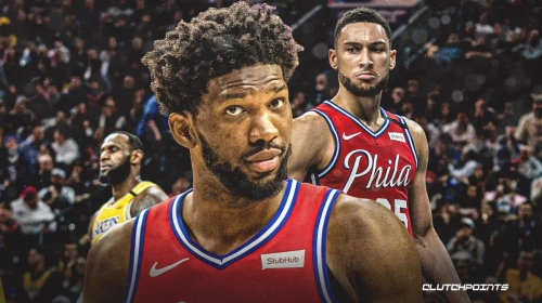 Sixers' Joel Embiid says struggles with Ben Simmons are 'B.S.'