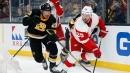 Bruins roll past Detroit as Pastrnak scores 42nd goal