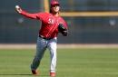 Cincinnati Reds notes: Luis Castillo working on his slider; Tucker Barnhart drops switch-hitting