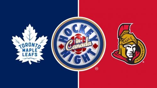 Hockey Night in Canada: Maple Leafs vs. Senators