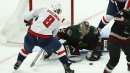 Capitals' Ovechkin stuck on 698 goals after 17 shot attempts vs. Arizona