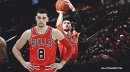 Zach LaVine 'pissed' about losing 3-Point Contest