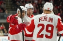 The Return of Detroit Red Wings Anthony Mantha and Andreas Athanasiou