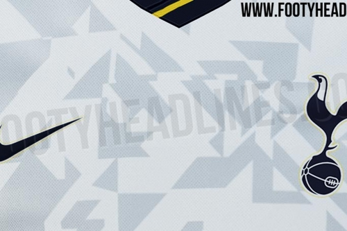 Tottenham's 2020-21 home kit has leaked and it's....something.