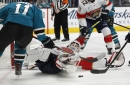 Miscues cost depleted Sharks in loss to Florida Panthers