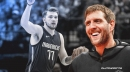 Dirk Nowitzki hopes Luka Doncic spends his entire career with the Mavs