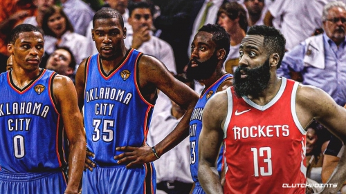 James Harden thinks Thunder were 'destined' for a title before he got traded to Rockets