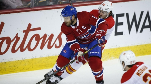 If the Canadiens' are sellers, why is Shea Weber playing now?