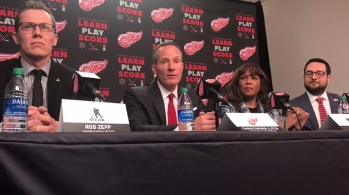 Chris Ilitch on Detroit Red Wings: