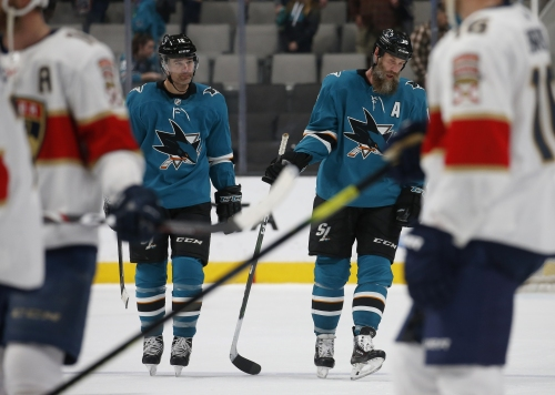 """San Jose Sharks GM may not be done dealing: """"We'll be on the phone"""""""