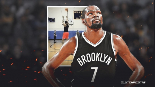 VIDEO: Nets' Kevin Durant appears to be returning to form in new workout video