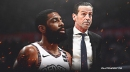 Nets' Kyrie Irving has been dealing with shoulder injury 'continuously' says Kenny Atkinson