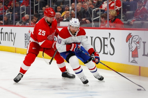 Detroit Red Wings 4, Montreal Canadiens 3: Photos from the game