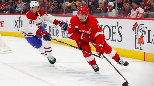 NHL-worst Red Wings beat Canadiens to sweep season series