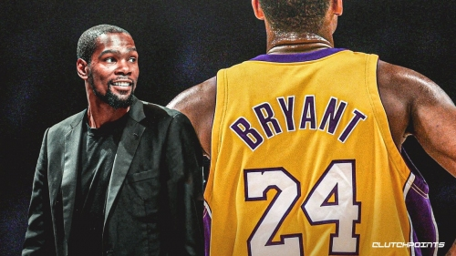 Kevin Durant explains how Kobe Bryant impacted him as a player