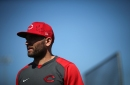 Cincinnati Reds' Joey Votto honors late MLB All-Star Tony Fernández with message on cap