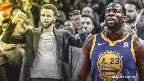Warriors' Draymond Green delivers message to those saying Stephen Curry shouldn't come back this season