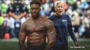 Seahawks video: DK Metcalf explains why he took his shirt off when meeting Pete Carroll