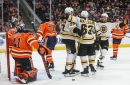 David Pastrnak buries Oilers in OT to lead Bruins to 4th straight victory