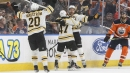 David Pastrnak scores overtime winner as Bruins edge Oilers