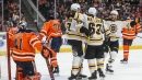 Depleted Oilers show signs of confidence in getting point against Bruins