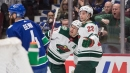 Canucks can't hold late lead, fall to Wild in shootout