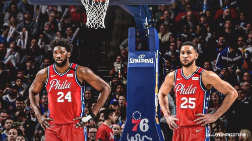 Sixers' Joel Embiid claims he predicted media would try to divide him, Ben Simmons