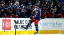 Blue Jackets' Foligno shows off sweet hands against Flyers