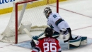Martin Jones robs Gusev with lightning-quick paddle save