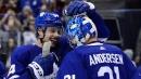Frederik Andersen earns shutout as Maple Leafs blank Penguins