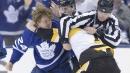 Scrappy Kasperi Kapanen's emotion gives Maple Leafs jolt of energy