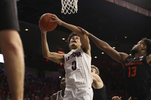 3 up, 3 down from Arizona's rout of Oregon State