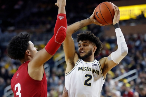 Michigan basketball's Isaiah Livers' status for Purdue remains unknown