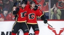 Flames set franchise record for fastest three goals to start game