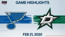 Parayko's three-point night helps Blues crush Stars