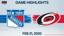 Mika Zibanejad's three-point night lifts Rangers over Hurricanes