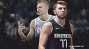 Mavs stars Luka Doncic, Kristaps Porzingis are 3rd duo in history to put up 20-10-5 in consecutive games