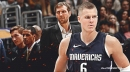 Kristaps Porzingis joins Dirk Nowitzki as only players in Mavs history to put up 24-10-5-5 game