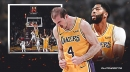 VIDEO: Lakers' Alex Caruso comes out of nowhere to put back Anthony Davis' free throw