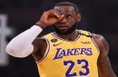 Aggressive LeBron James Leads Lakers Past Grizzlies To Start Second Half Of 2019-20 NBA Season