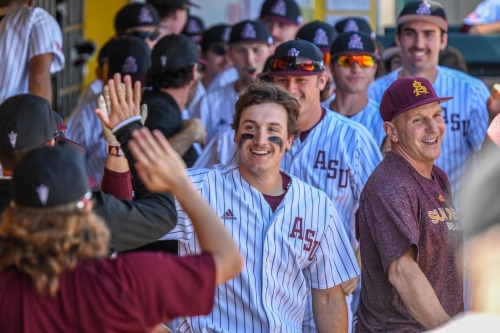 Watch: Reactions to ASU baseball's Friday night win over Boston College