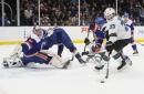 Offense sputters again as Sharks lose to Islanders