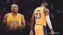 LeBron James admits struggle getting over Kobe Bryant's death