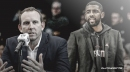 Nets GM Sean Marks reacts to Kyrie Irving's season-ending injury
