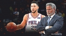 Sixers' Brett Brown preaches patience when it comes to Ben Simmons