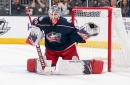 Elvis Merzlikins and Riley Nash Out for the Columbus Blue Jackets